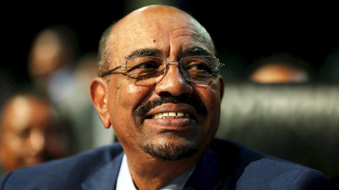 Sudanese President Omar al-Bashir looks on ahead of the 25th African Union summit in Johannesburg. (Reuters)