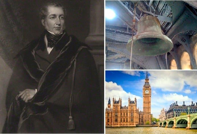 بيغ بن ليس اسما للساعة بل للجرس الذي أطلقوا اسم بانيه في 1858 عليه وهو المهندس بنجامين هول