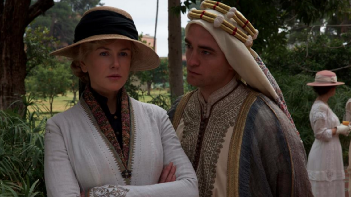 """The historical drama starring American actress Nicole Kidman """"Queen of the Desert's"""" first ever trailer is finally out"""