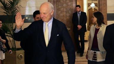 دي ميستورا إلى دمشق لبحث خطة السلام