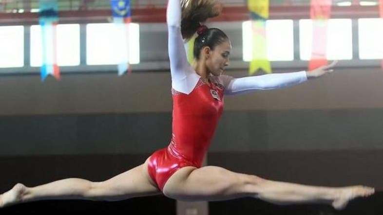 Muslim Gymnast Slammed For Wearing Revealing Leotard