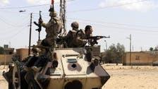 الجيش المصري: مقتل 7 إرهابين كانوا يجهزون لعملية بسيناء