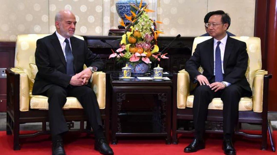 الجعفري يلتقي مستشار الدولة الصينية