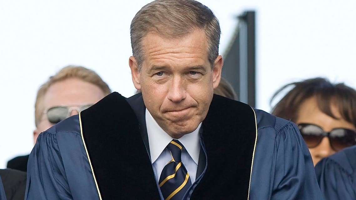 "NBC News anchor Brian Williams prepares to receive an honorary doctorate in humane letters from George Washington University in Washington, in this file photo taken May 20, 2012. Williams, suspended by NBC in February for fabricating a story that he had come under fire on a helicopter during the Iraq war, will not return as anchor of the network's ""Nightly News"" program, CNN reported on Wednesday. REUTERS/Jonathan Ernst/Files"