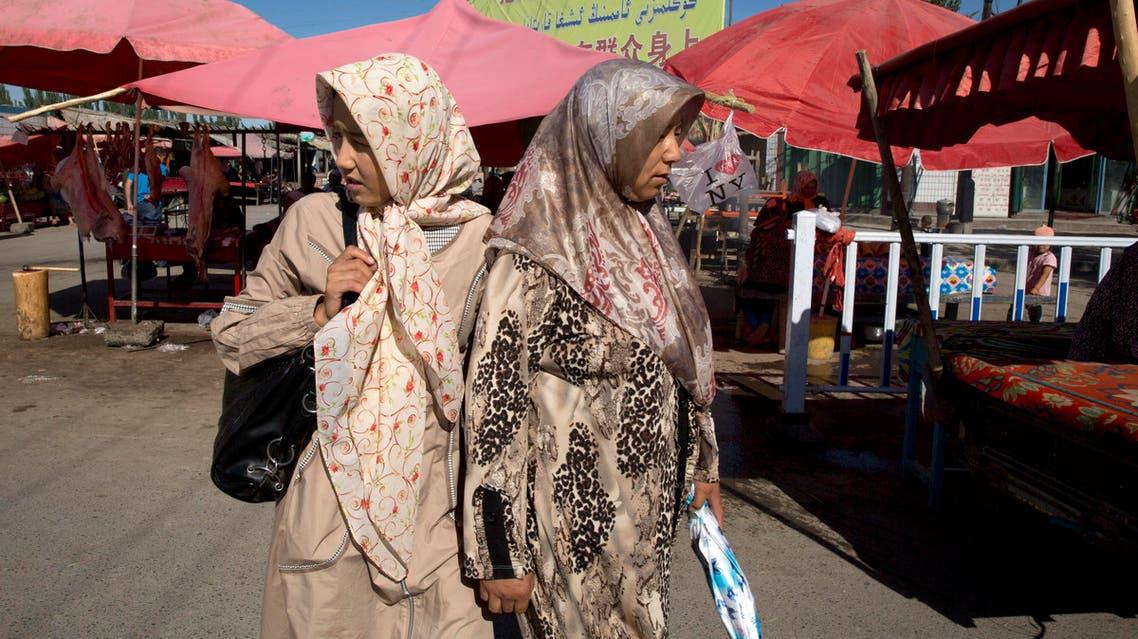 Muslim Uighur minority Xinjiang AP