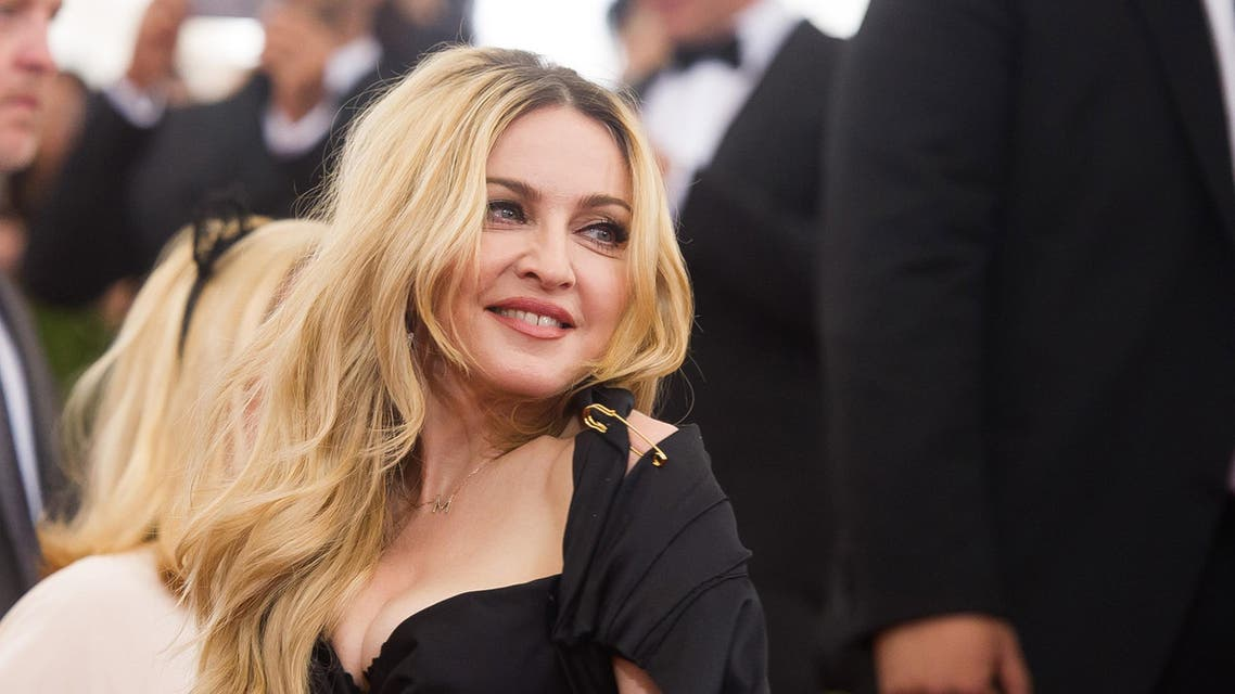 "Madonna arrives at The Metropolitan Museum of Art's Costume Institute benefit gala celebrating ""China: Through the Looking Glass"" on Monday, May 4, 2015, in New York. AP"