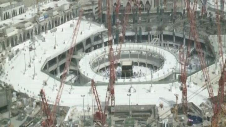 مسجد حرام میں طواف کی گنجائش دوگنا سے زیادہ ہو گئی