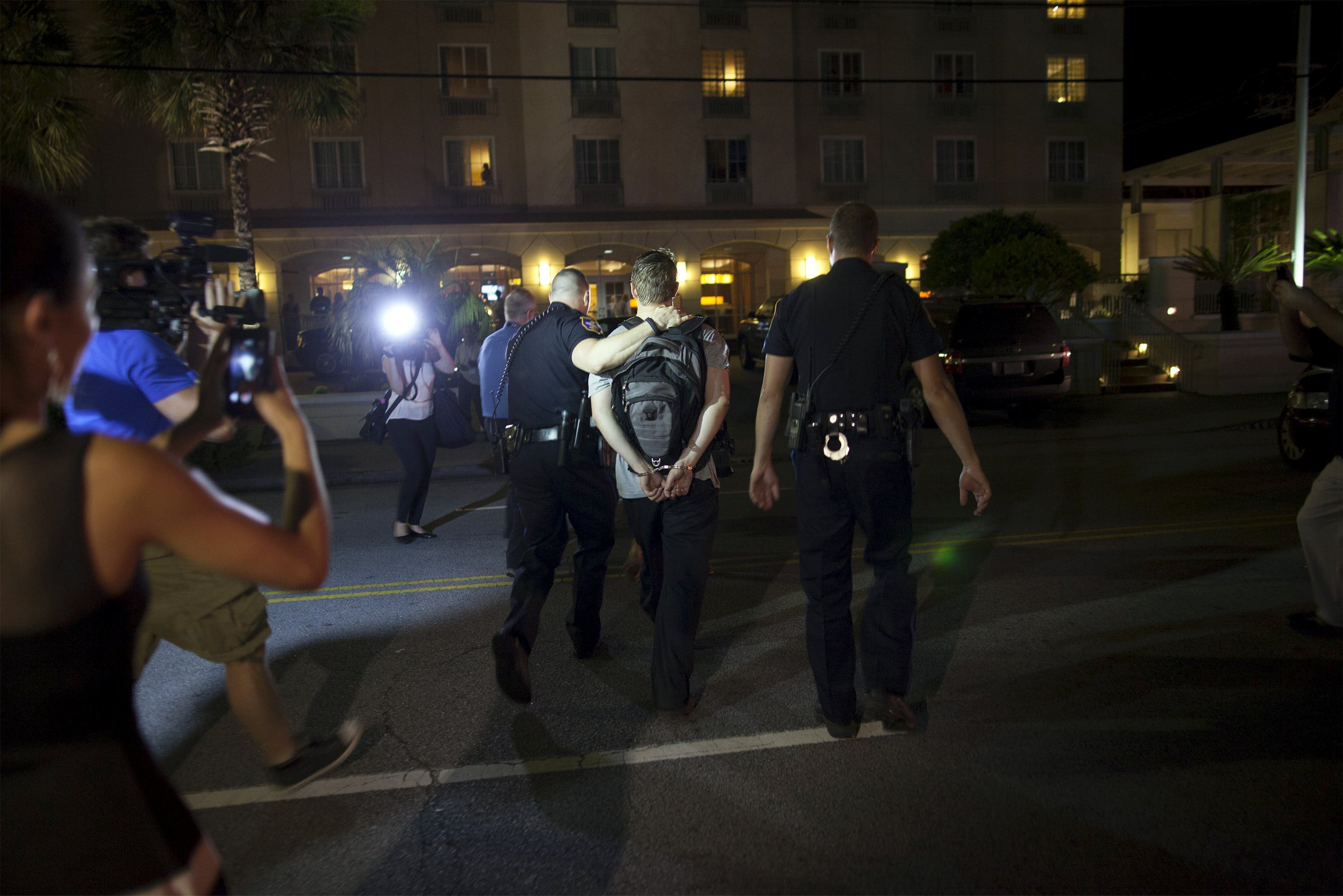 Charleston Shooting Suspect Dylann Roof Arrested Police