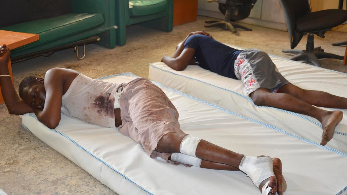ictims receive treatment at a hospital, after an explosion in Maiduguri, Nigeria, Wednesday, June 17, 2015.  AP
