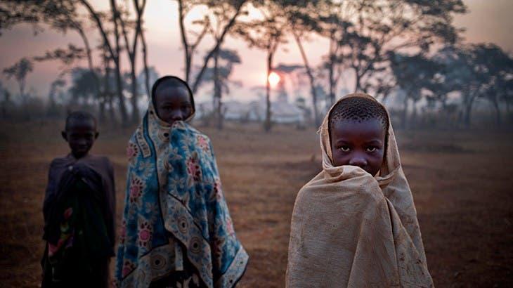 اطفال لاجئون من بوروندي الى تنزانيا