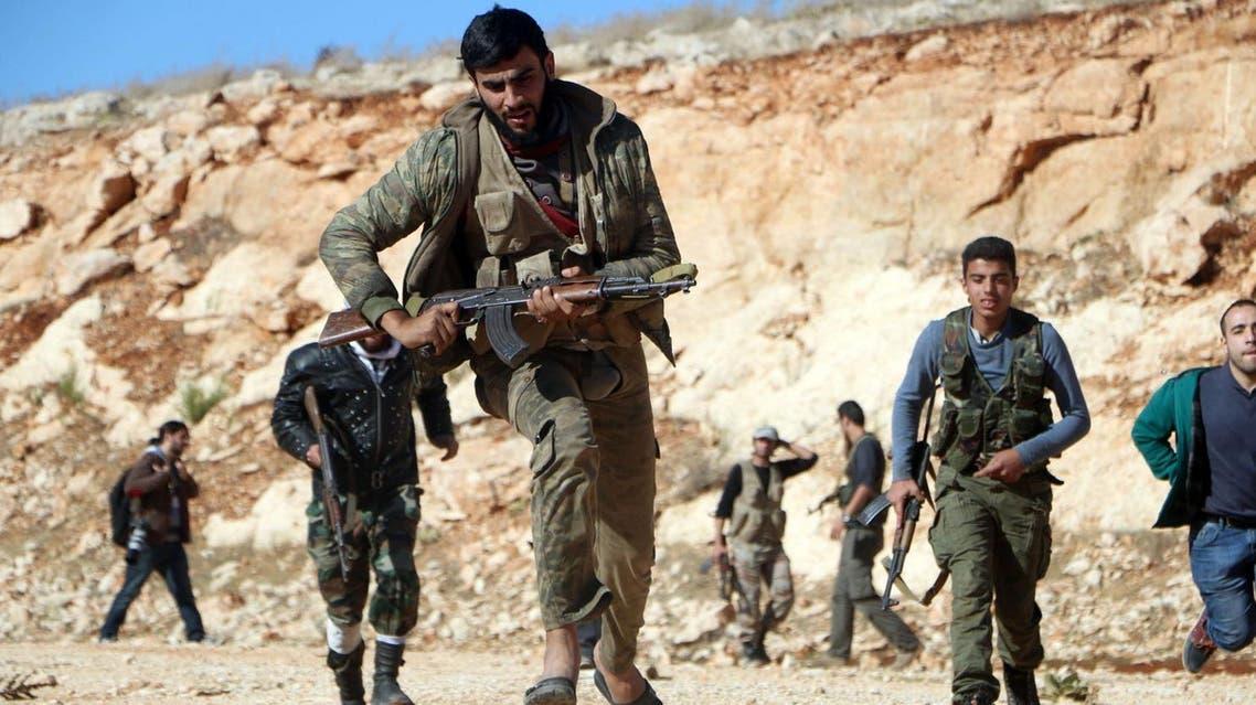 تدريب المعارضة السورية