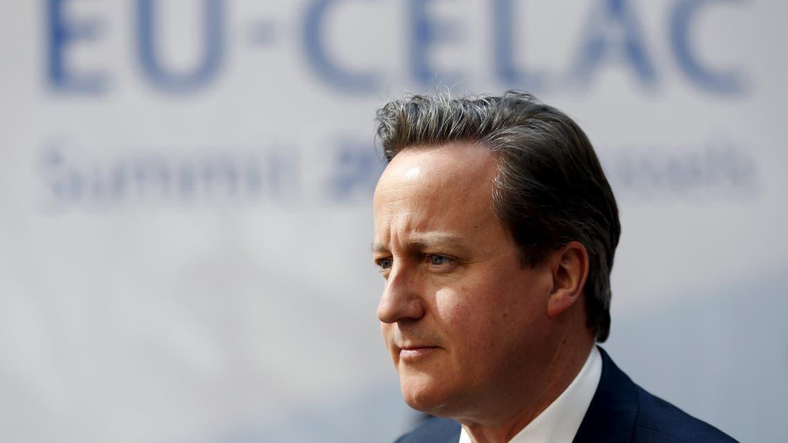 Britain's Prime Minister David Cameron reuters