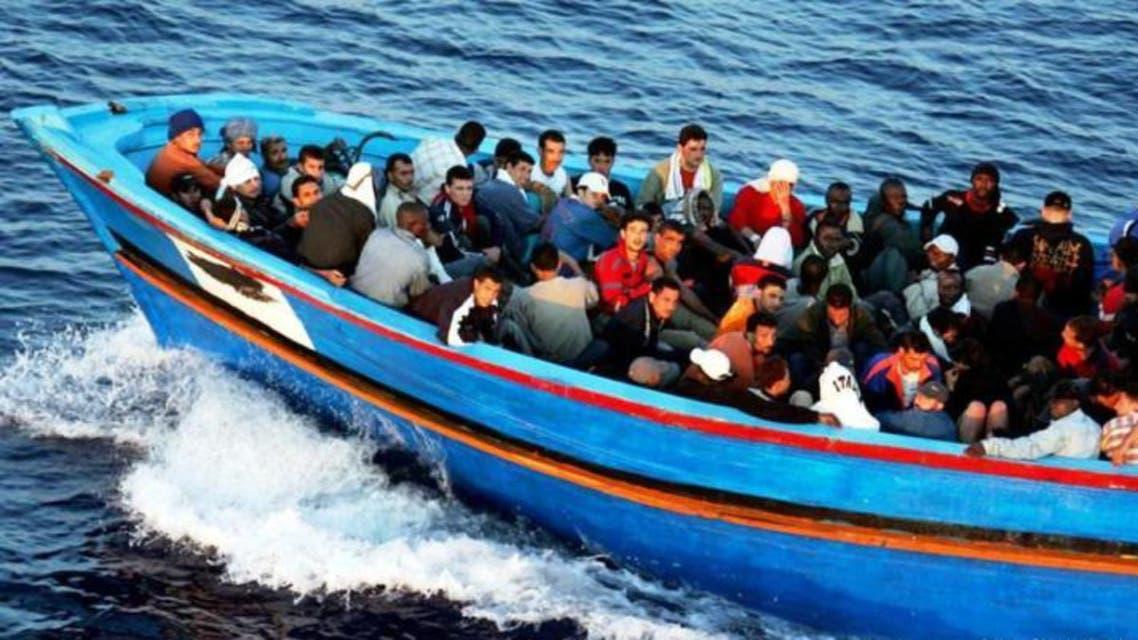 المهاجرين في البحر المتوسط