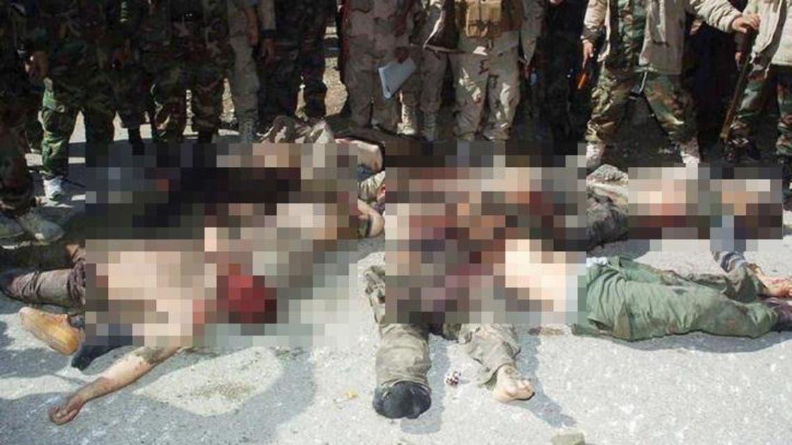 قتلى داعش بعد اشتباكات مع الجيش العراقي في العراق
