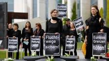 'Refugees welcome here,' say Berlin demonstrators