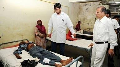 وفاة 94 شخصاً احتسوا خمراً مغشوشاً في #الهند