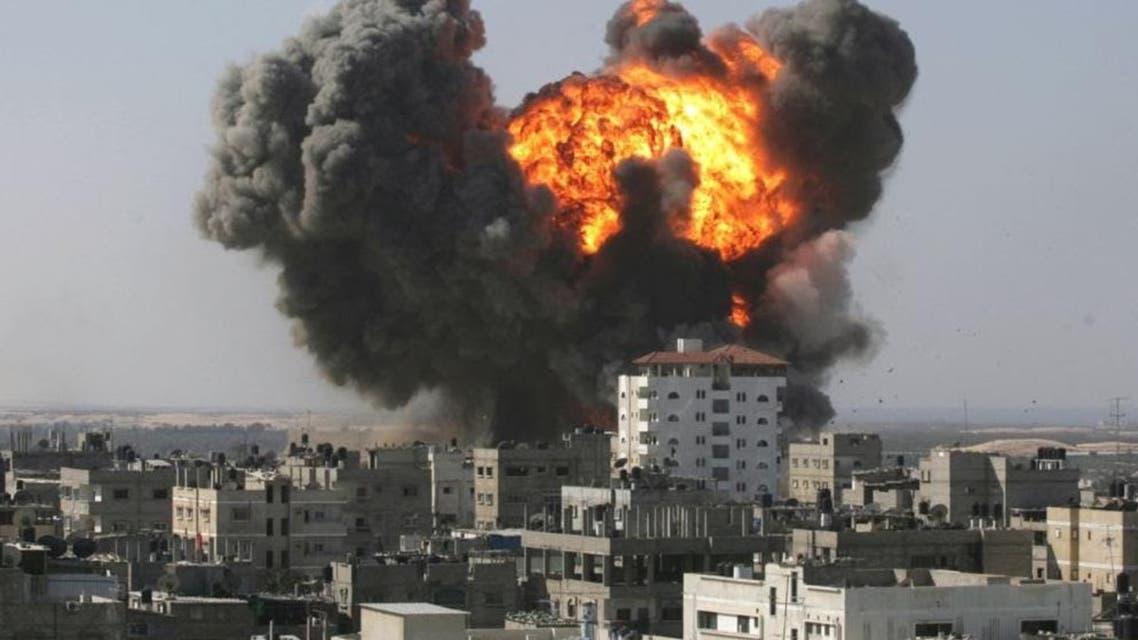 قصف سوريا براميل
