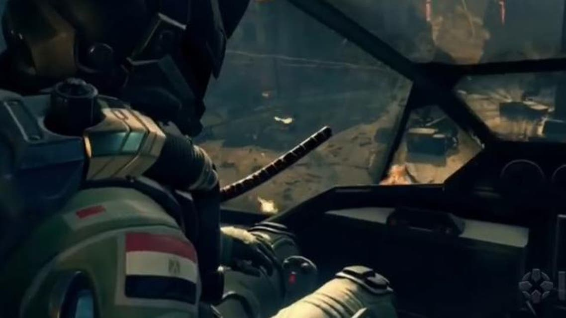 The Egyptian flag is spotted on the gear of several non-playable character. (Photo courtesy: YouTube)