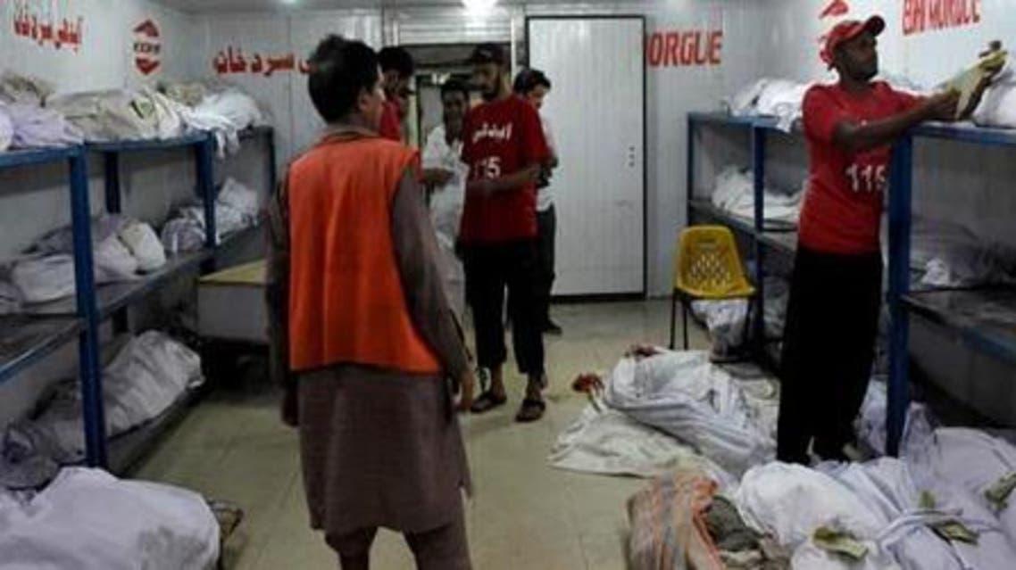 مرده خانه بیمارستان در پاکستان