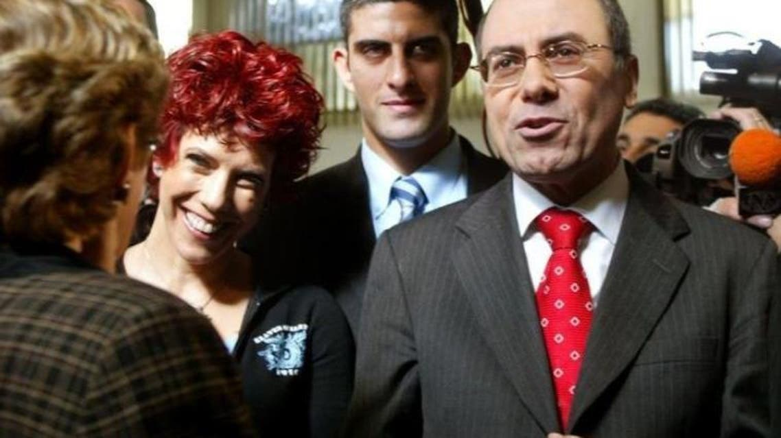 Minister Silvan Shalom and his wife Judy. Reuters