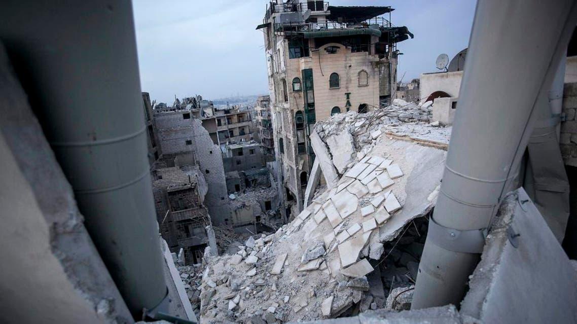 دمار قصف سوريا