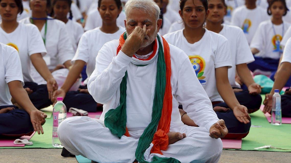 PM Modi leads Global Yoga Day
