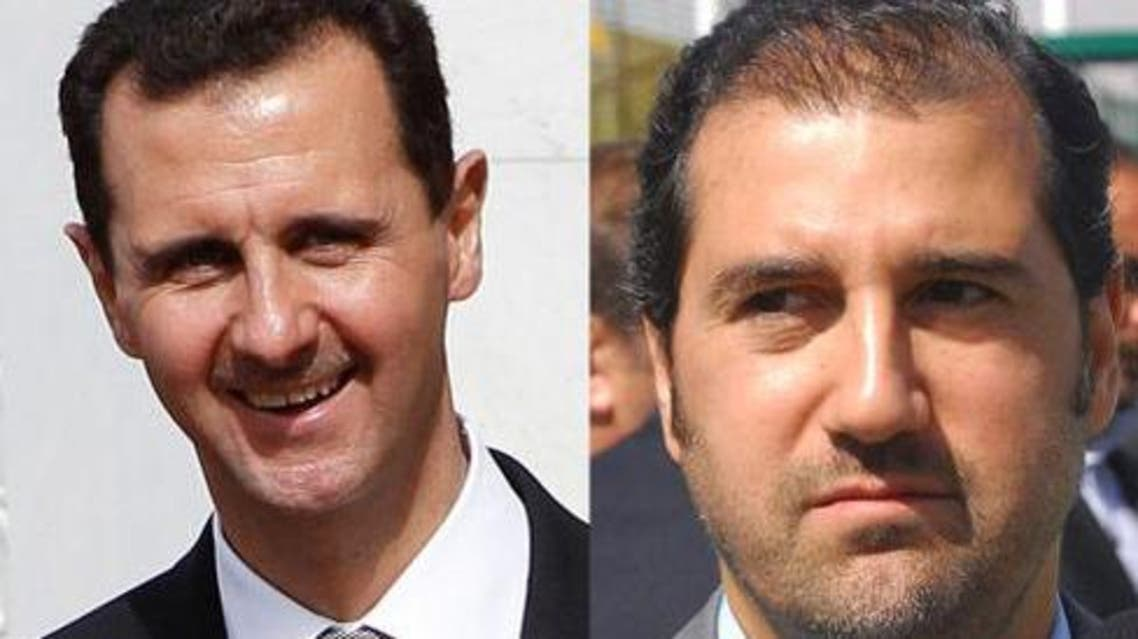 The financial assets of one of Syria's wealthiest men -- a cousin of Syrian President Bashar al-Assad -- will remain frozen in Switzerland. AP