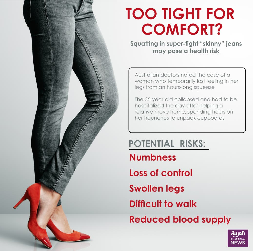 Infographic: The 'skinny' on skinny jeans