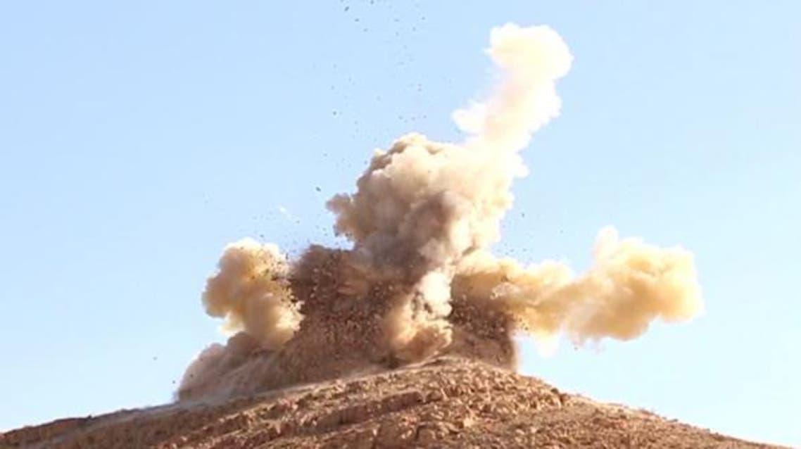 داعش يفجر مقامين دينيين في تدمر بسوريا