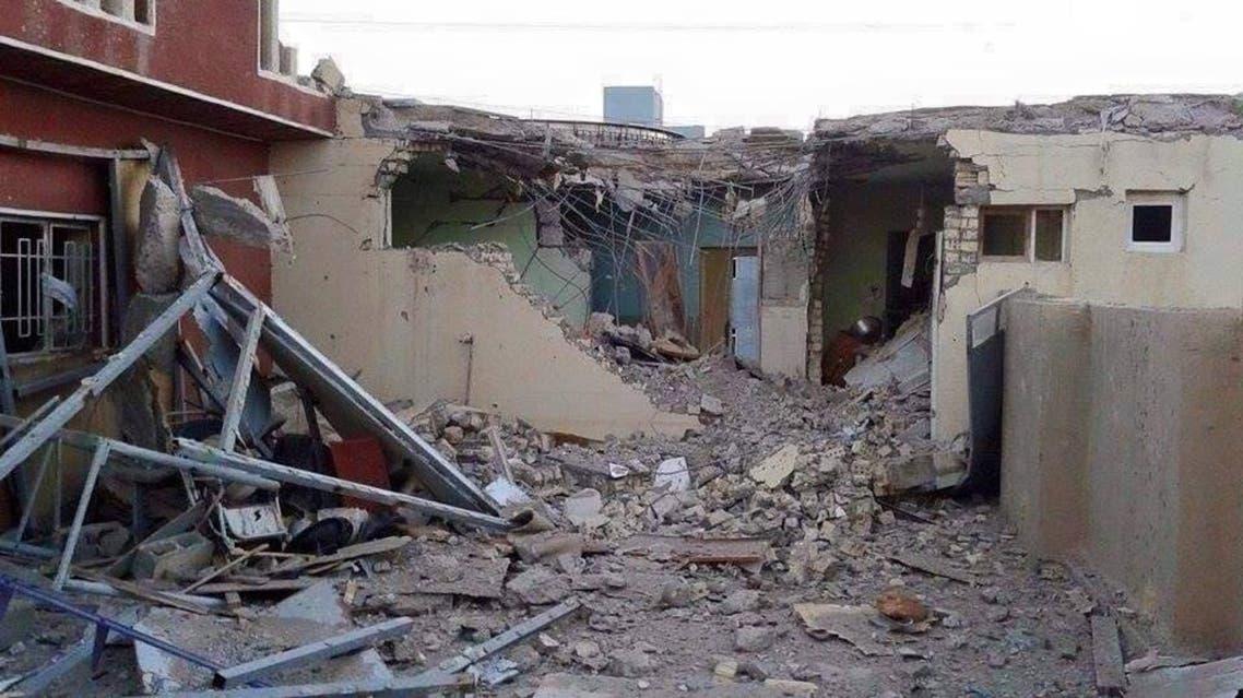 الفلوجة العراق قصف