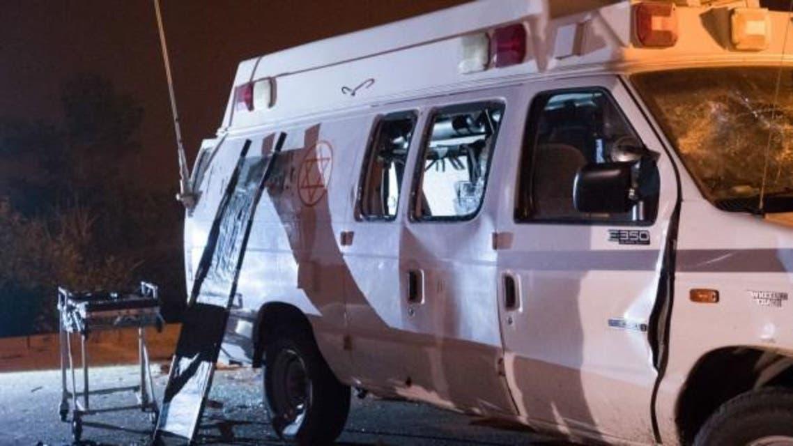 سيارة إسعاف إسرائيلية هجوم - دروز - سوريا
