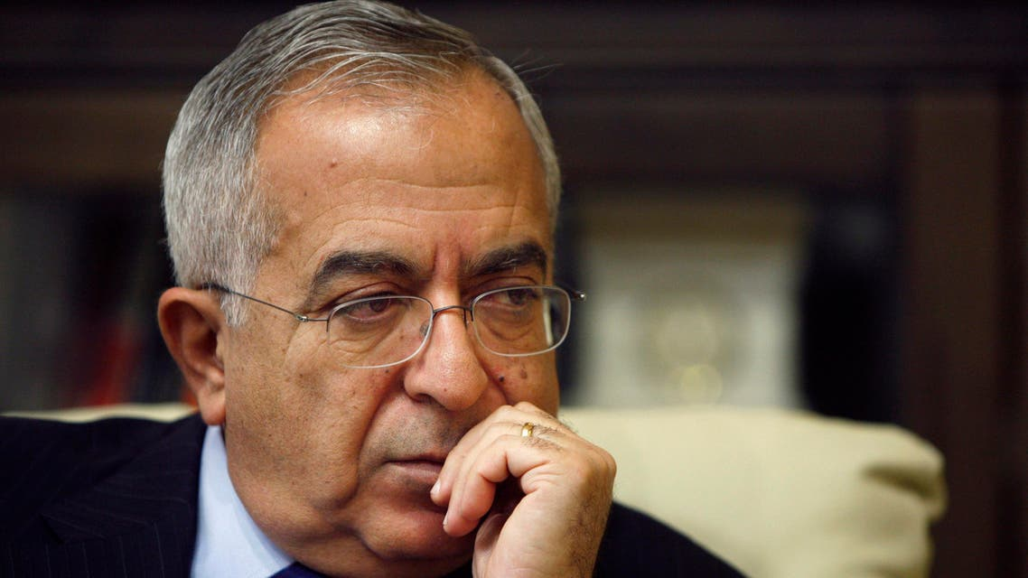 Palestinian Prime Minister Salam Fayyad esigned from the premiership in 2013 after six years in the post. (File: AP)