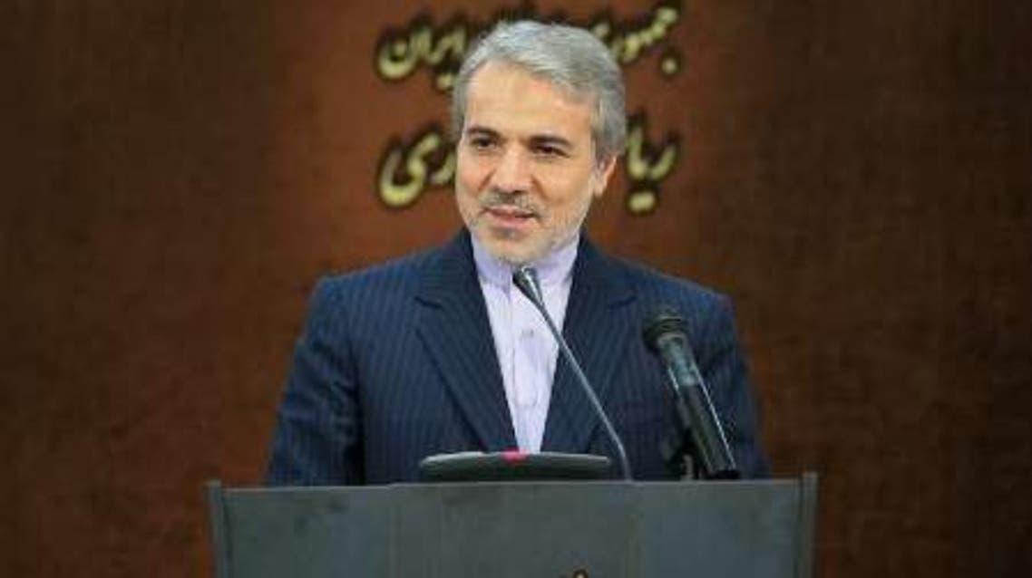 المتحدث باسم الحكومة الإيرانية محمد باقر نوبخت