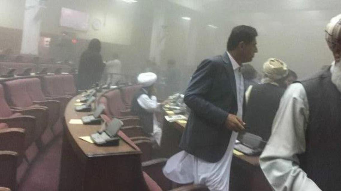 حمله به مجلس افغانستان