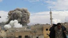 Syrian regime barrel bomb kills 10 civilians in Aleppo: Monitor
