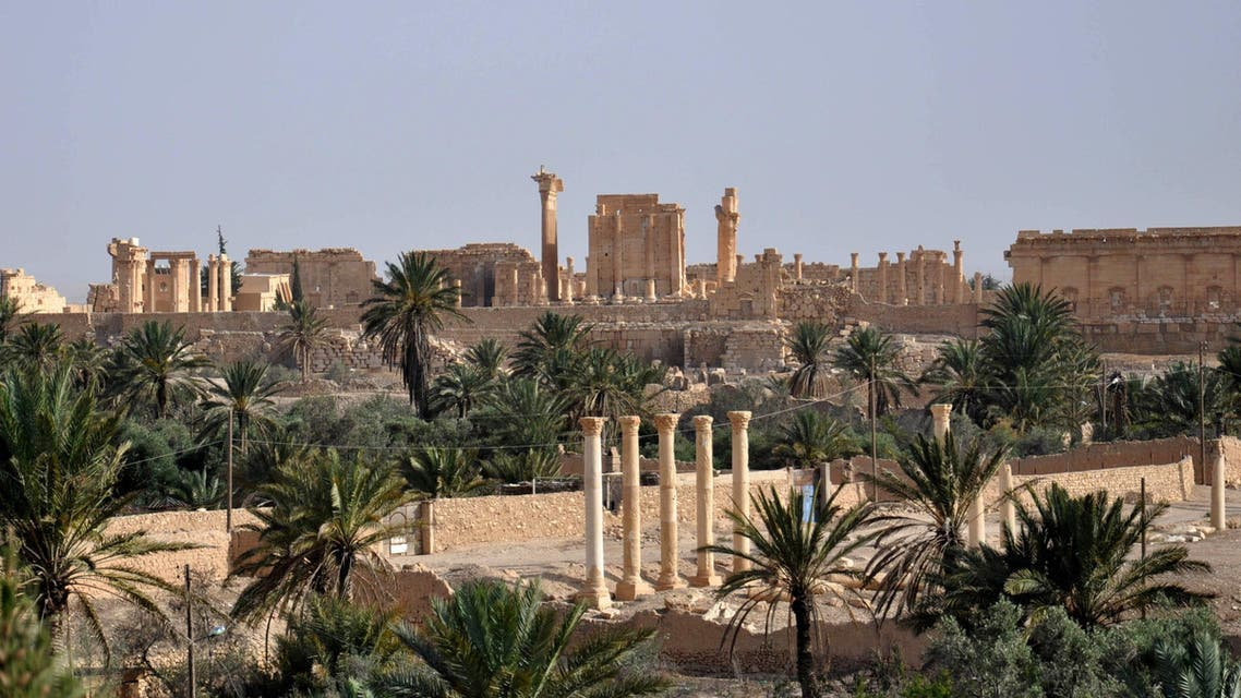 A file picture taken on May 18, 2015 shows the ancient Syrian city of Palmyra AFP