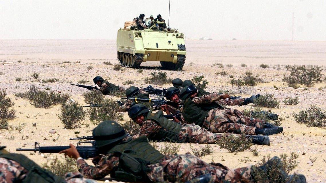 جانب من عمليات الجيش المصري في سيناء