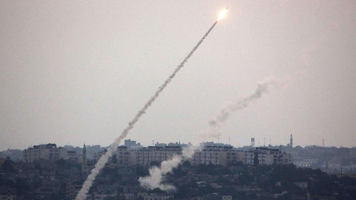 A rocket was also fired on June 11 but it fell short and landed inside the Palestinian enclave. (File: AFP)