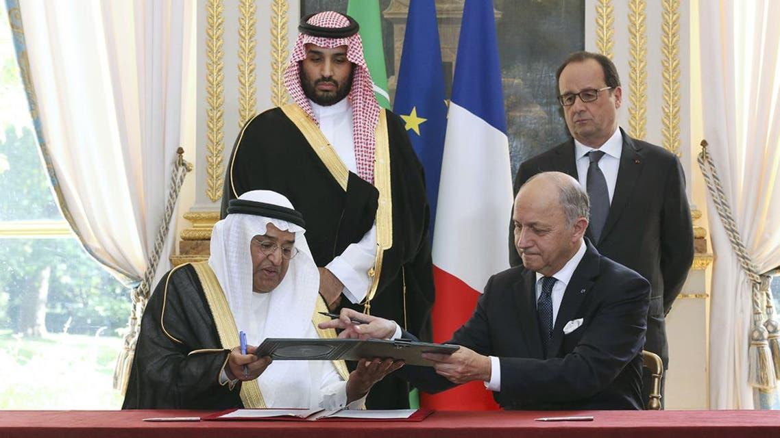 توقيع صفقات بين السعودية و فرنسا