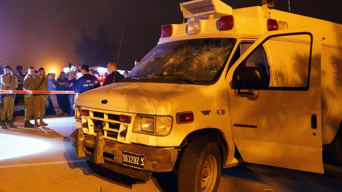 هجوم على سيارة إسعاف إسرائيلية في الجولان
