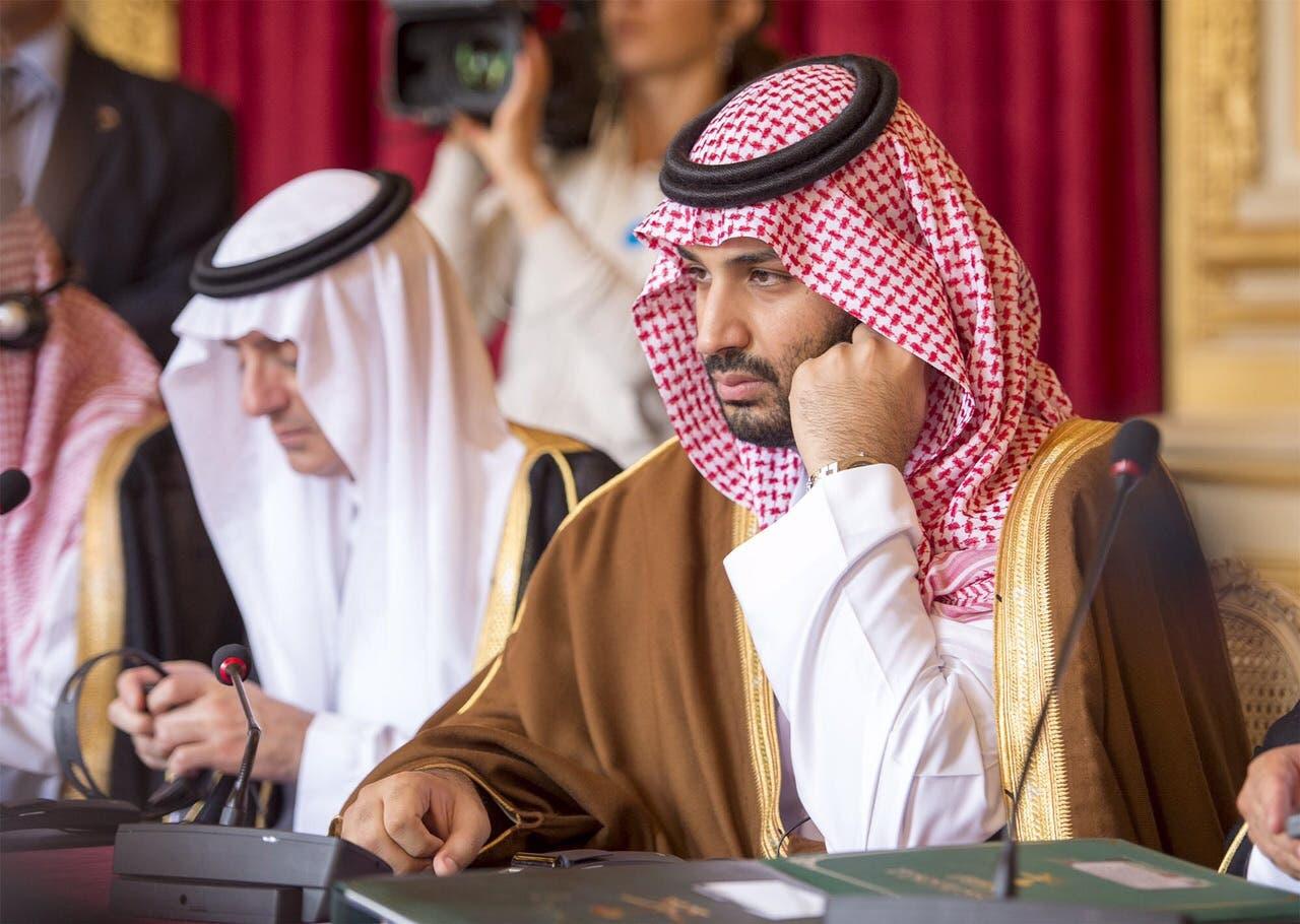 Saudi deputy crown prince's official visit to Paris.  (Exclusive Al Arabiya photo by Bandar Al-Jalooud)