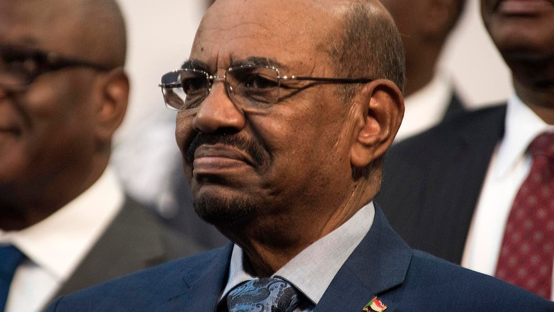 Sudanese President Omar al-Bashir is seen during the opening session of the AU summit in Johannesburg, Sunday, June 14, 2015. AP