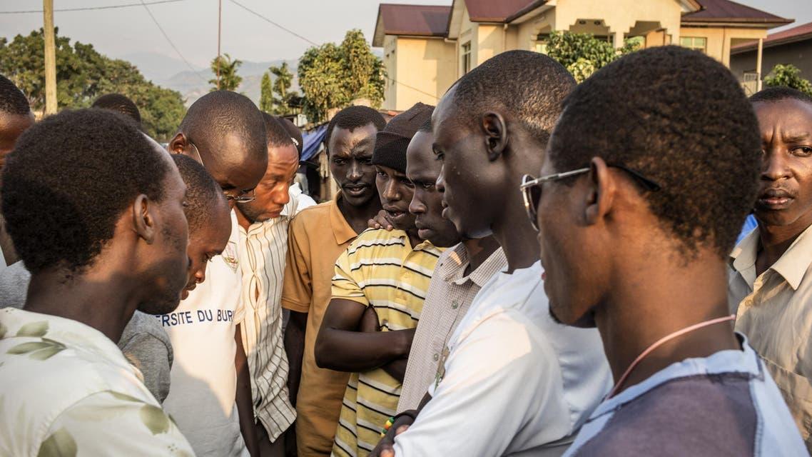 الطلاب بوروندي
