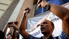 Egypt's imprisonment of journalists at all-time high: monitor