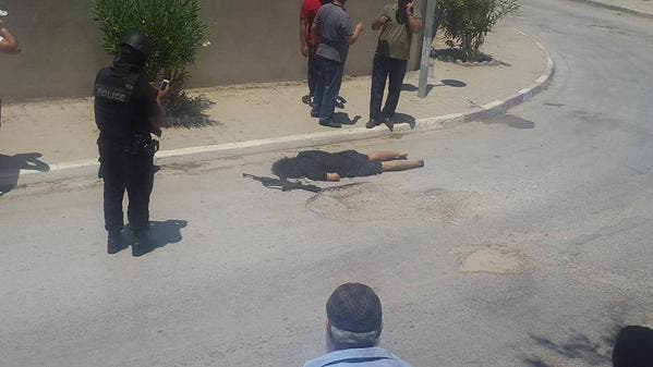 Image of one of the gunmen who carried out the attack in Sousse, Tunisia
