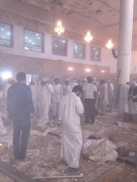 Kuwait Mosque bomb attack (Twitter)