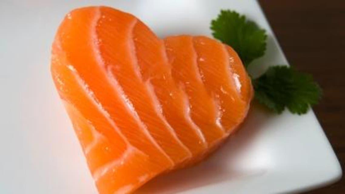 سلمون أسماك صحة