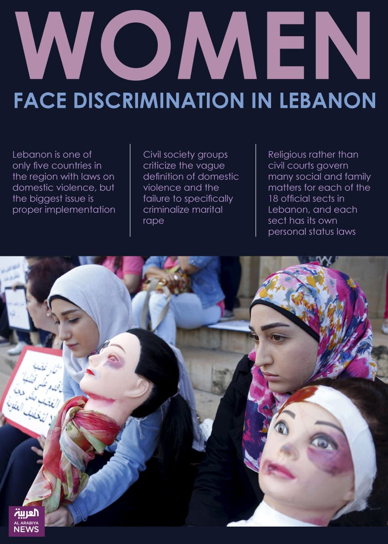 Lebanpm women rights design by farwa rizwan al arabiya
