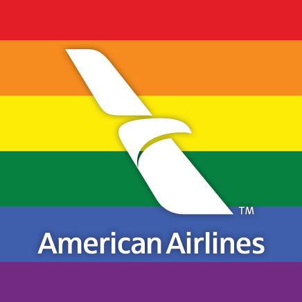 american airlines lgbt marriage equality logo