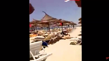 Amateur footage shows deadly attack in Tunisia